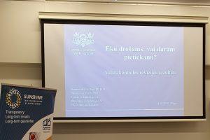 """Atskats uz aizvadīto Projekta SUNShINE noslēguma konferenci """"Mājokļu drošība un energoefektivitāte: kopīgais un atšķirīgais"""""""